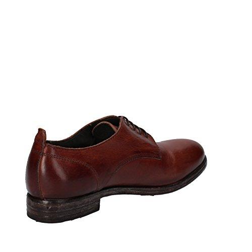 ... MOMA , Chaussures de ville à lacets pour femme marron marron ...