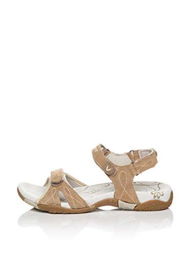 Sandale de Marche Femme FEDRA - KEFAS Beige WQzV9E