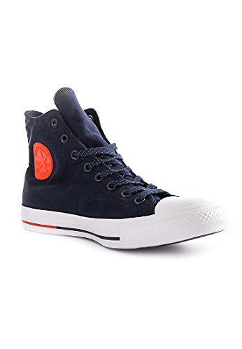 Converse Chuck 153793C Sneaker High obsidian/white/signal red, Schuhe Unisex:42.5