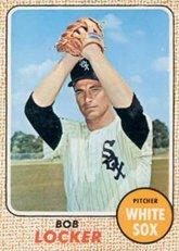 1968 Topps Regular (Baseball) Card# 51 Bob Locker of the Chicago White Sox VG (Chicago White Sox Collectible Locker)