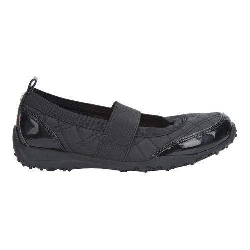 NINA Kids Girls Julia Slip On Mules, Black, Size 12