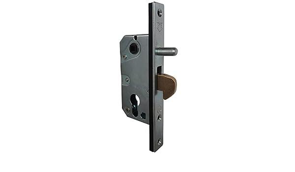 iccametal – SVS Surete – Cerradura de mentonnet para puerta corredera – A30/35 – Eje 27/32: Amazon.es: Bricolaje y herramientas