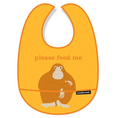 Creek Crocodile Bib (Crocodile Creek Bib - Please Feed Me)