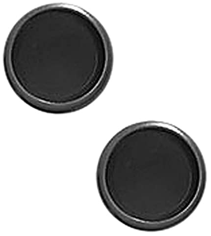 Levenger Circa Discs - Set of 22, 1/2-Inch, Black Standard (ADS1830 BK) - These Discs
