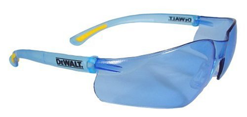 Dewalt DPG52-BC Contractor Pro Light Blue High Performance Lightweight Protective Safety Glasses