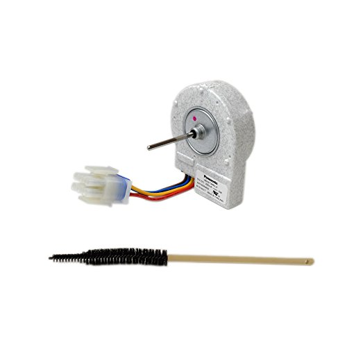 Kenmore 241509402 Refrigerator Evaporator Fan Motor and L304433062 Refrigerator Coil Cleaning Brush Bundle