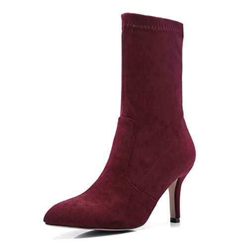 Stivali Stivali Stivali ZAPROMA 39 Donna Wine Red XUE BxcwEC1qz