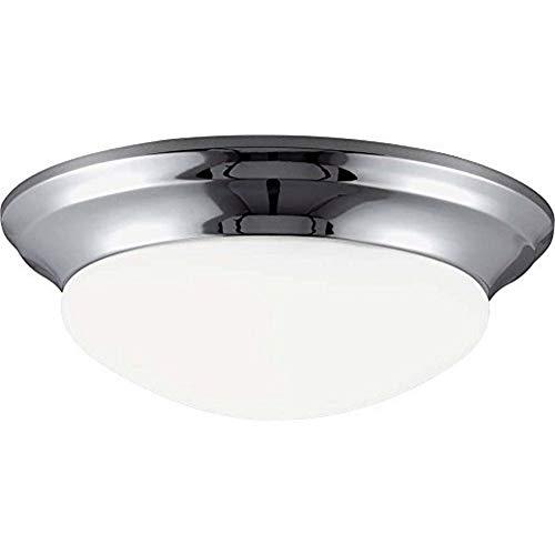 Seagull 79434BLE-05 One 79434BLE-05-One Light Ceiling Flush Mount