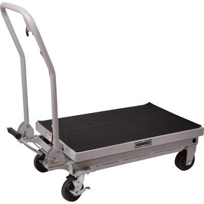 Roughneck Hydraulic Table Cart - 1,000-Lb. Capacity