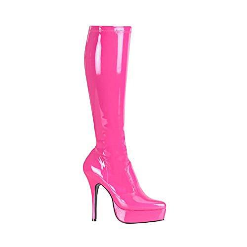 Heels-Perfect - Zapatos de vestir de material sintético para mujer rosa rosa rosa - rosa