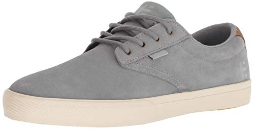 Etnies Men's Jameson Vulc Skate Shoe, Grey/tan, 10 Medium US