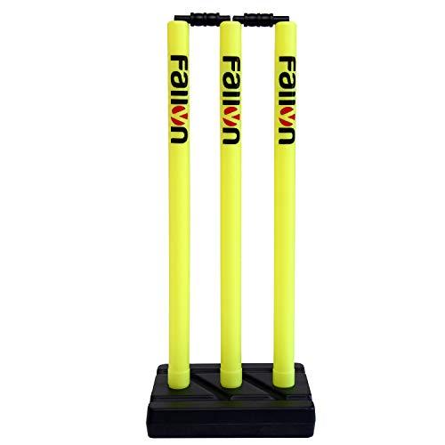 Fallyn Cricket Plastic Stump Wicket Set (Neon) Price & Reviews