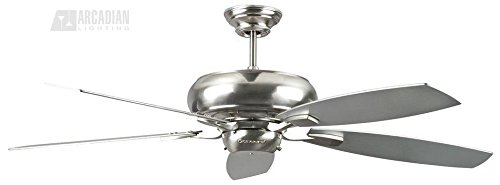 (Ship from USA) Concord Fans Roosevelt 60'' Stainless Steel Ceiling Fan /ITEM NO#8Y-IFW81854242684 by Rosotion