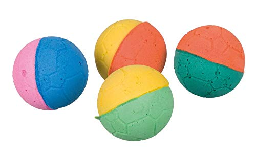 Trixie 80 soft balls, foam rubber