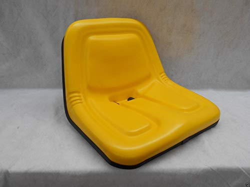 LawnMowerParts Replacement SEAT for John Deere 120,140,300,312,314,317,400 MOWERS Steel PAN - John 570 Skid Deere