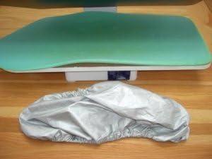 6 tailles disponibles 65cm Housses de rechange pour presse /à repasser avec thibaudes en mousse 3 Covers for the price of 2