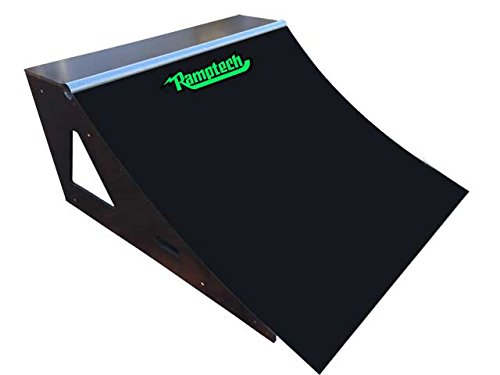 Ramptech 2' Tall x 4' Wide QUARTERPIPE Skateboard Ramp ()