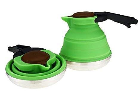 Amazon.com: Dr. Si - Tetera plegable (1,2 L): Kitchen & Dining