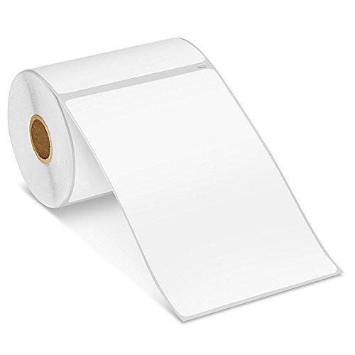 Amazon com : Uline Mini Printer Labels - White Paper, 4 x 6