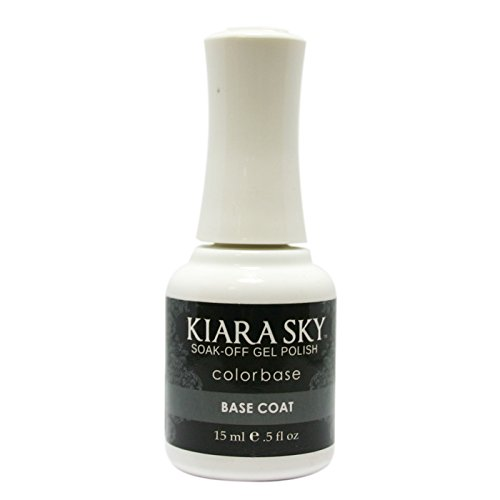 Kiara Sky Soak Off Gel Polish Base Coat .5oz