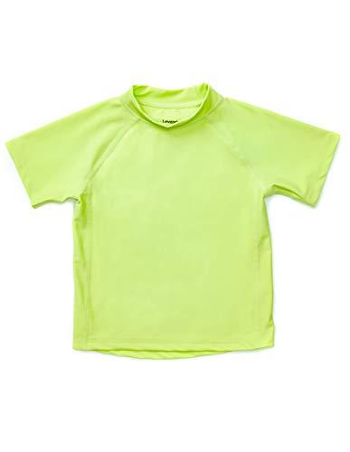 Leveret Short Sleeve Rash Guard (12-18 Months, Green) (Little Boy Shirt Labels)