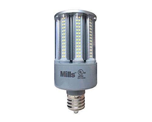 54 Watt LED Corn Light Bulb, 250 Watt Metal Halde Equal Replacement, 120-277V, 5000K Daylight White Light, E39/EX39 Mogul Base (Base Ex39 Mogul)