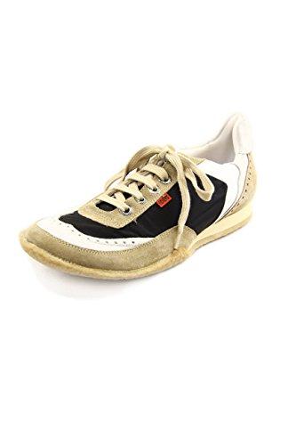 Kickers - Zapatillas para hombre multicolor Beige/Black 41