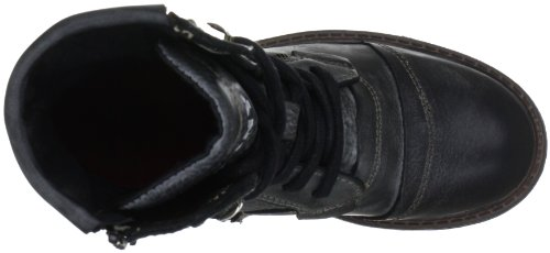 Yellow Cab SOLDIER W Y25049, Stivaletti donna Nero (Schwarz (Black))