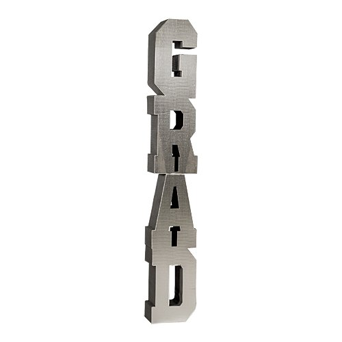 Shindigz Graduation Silver Metallic Column Photo Booth Prop Background Backdrop Party Decoration Scene Setter