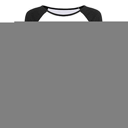 Price comparison product image Creamfly Womens Metal Gear Solid V The Phantom Pain Long Sleeve Raglan Baseball Tshirt S