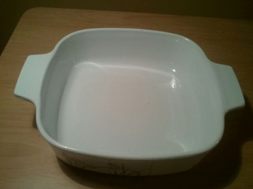 Iris Casserole (Vintage Corningware Shadow Iris Casserole Dish No Lid A-1-b Collectible One Liter)