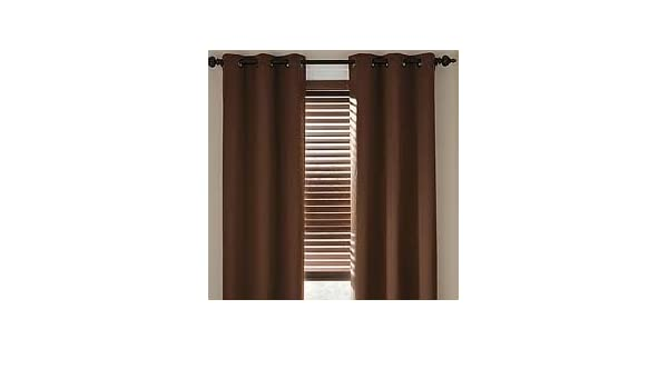 Amazon JCPenney Home LINDEN STREET HERRINGBONE GROMMET PANEL Drape Energy Savings