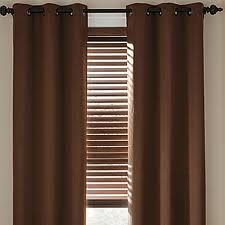 JCPenney Home LINDEN STREET HERRINGBONE GROMMET PANEL Drape Energy Savings