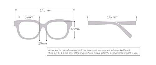 775e98d731 WSKPE Gafas De Sol Gafas De Sol Polarizadas De Marca De Moda De Diseño  Clásico De Conducción Hombre Gafas De Sol Gafas Uv400 Negro Mate ():  Amazon.es: ...