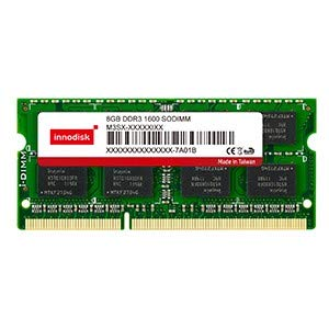 INNODISK M3S0-4GSSCLPC Industrial DRAM Memory Card, INNODISK DDR3L-1600 Samsung SODIMM 4GB 512M8 CL11