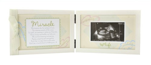 The Grandparent Gift Co. Miracle Ultrasound Frame for Boy or Girl