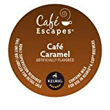 Cafe Escapes Cafe Caramel, K-Cup Portion Pack for Keurig Brewers (24 Count)