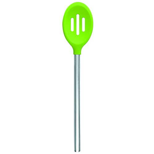 Tovolo Silicone Slotted Spoon - Spring Green