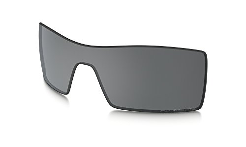 Oakley Oil Rig Replacement Lenses Black Iridium Polarized & Cleaning Kit - Oakley Lens Cleaning