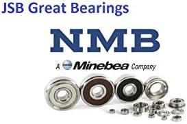 Bearing NMB Brand 608-2Z metal shields 608-ZZ ball bearings 608 Z Qty.50