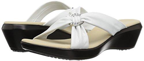 Nanci Onex White Women's Wedge Sandal TxFOnz1qFW