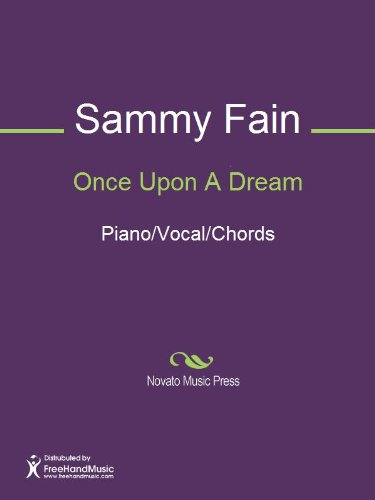 Once Upon A Dream Kindle Edition By Sammy Fain Jack Lawrence