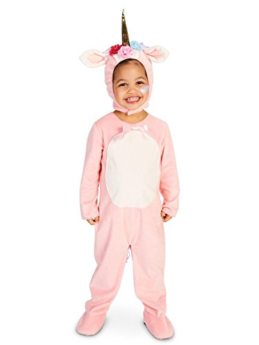 Enchanted Pink Unicorn Toddler Costume 2-4T