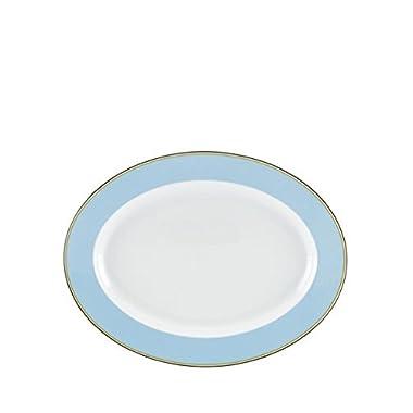 Kate Spade Market Street Blue 16  Oval Platter
