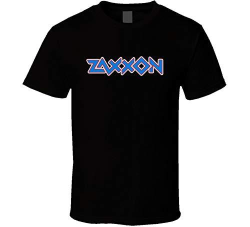 Zaxxon 80s Video Game Logo T-shirt for Men