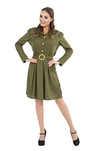 Womens 1940s WW2 Wartime Fancy Dress Halloween ()
