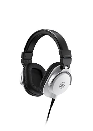 Yamaha HPH MT5W Monitor Headphones White