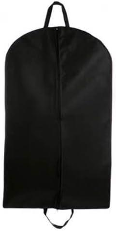 Tuva Inc. Cheap Garment Bags Breathable Suit//dress Zipper Garment Bag Black 45