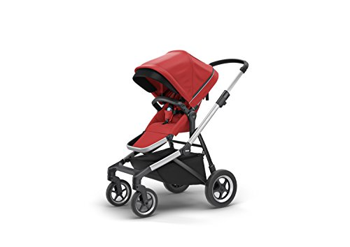 Thule Sleek City Stroller, Energy Red