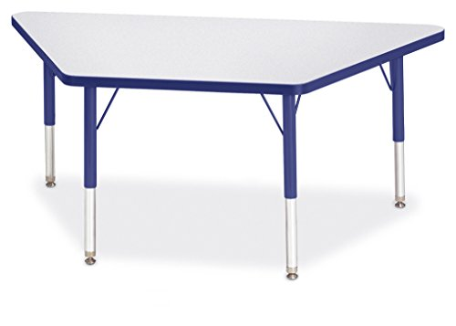 Berries 6438JCT003 Trapezoid Activity Tables, T-Height, 24